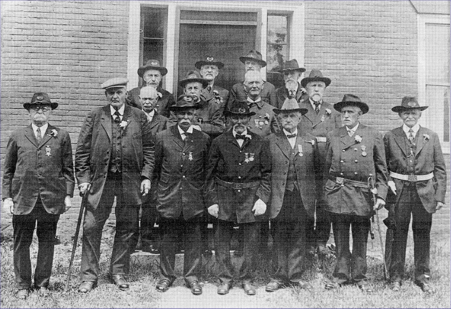 Members of Isaac Davis G.A.R. in 1924