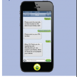 Sign up for Text Messaging and Never Miss a Library Notice banner