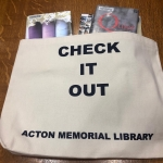 Check out a Tote Bag banner