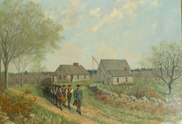 Minute Men Leaving the Home of Captain Isaac Davis, April 19, 1775