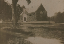 Acton Memorial Library, early 1900s, (AML archives 1999.1.1)