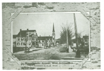 Massachusetts Avenue, West Acton (AML archives 68.2.15)