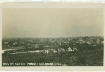South Acton from Faulkner Hill ((AML archives 74.16.1a)