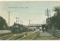 South Acton Train Station (postmarked 1903)  (AML archives 74.16.1g)