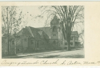 South Acton Congregational Church, 1904 (AML archives 74.16.1n)