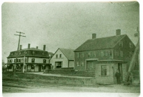 South Acton, American House Hotel on Railroad Street at left (AML archives 87.14.4)