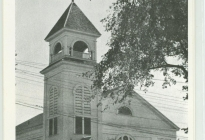 Acton Congregational Church, after 1898 renovation (AML archives 87.4.4)
