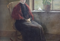 Martha Parsons Davis (2009.3.1).  The artist's mother.