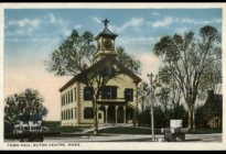 Acton Town Hall (postcard postmarked 1932)  (AML reference office).