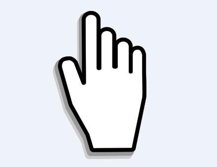 Image of a cursor hand