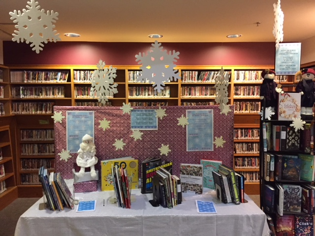 Photo of Holiday Book Display